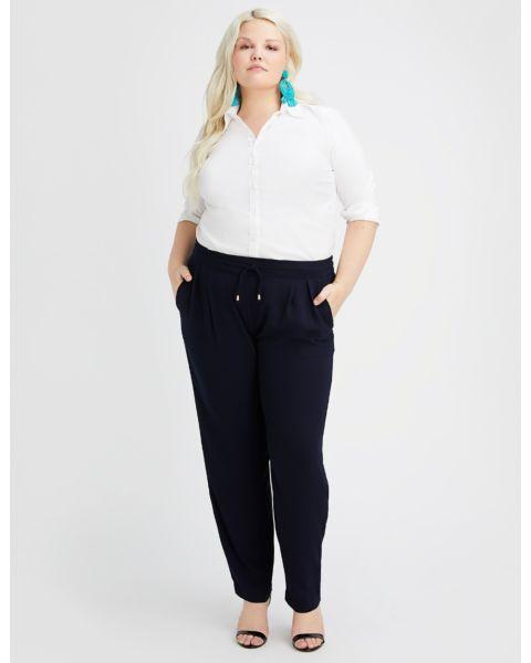 Navy Drawstring Pants