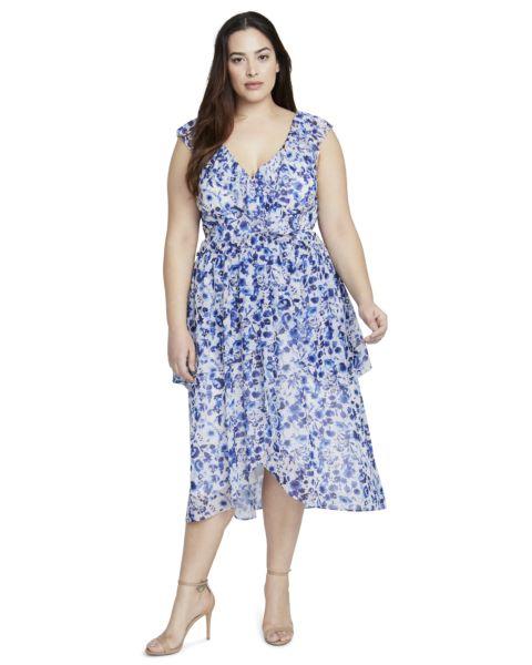 FLORAL DRESS - IVORY