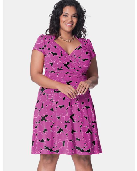 Sweetheart Dress in Petunia