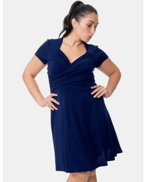 Sweetheart in Classic Navy Crepe